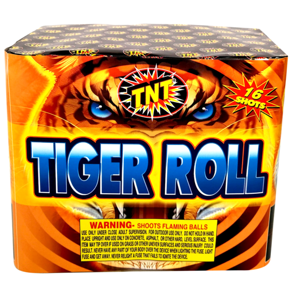Firework Aerial Finale Tiger Roll