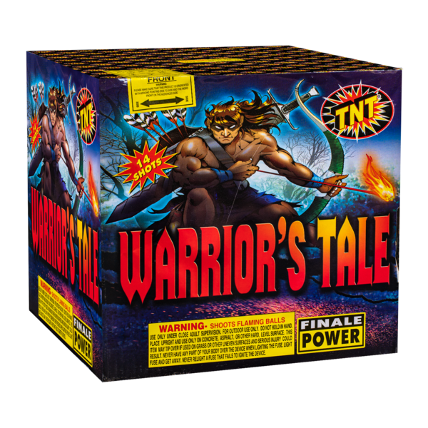 500 Gram Firework Aerial Finale Warrior's Tale