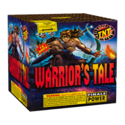 500 Gram Firework Aerial Finale Warrior's Tale Thumbnail 1
