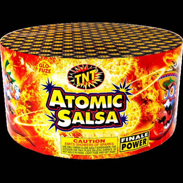 500 Gram Firework Supercenter Atomic Salsa