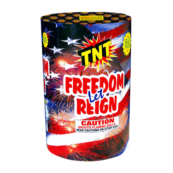 Firework Aerial Finale Let Freedom Reign