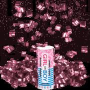 Firework Novelty Sparkler Pink Reveal Time Spring Loaded Popper Thumbnail 1