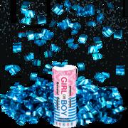 Firework Novelty Sparkler Blue Reveal Time Spring Loaded Popper Thumbnail 1