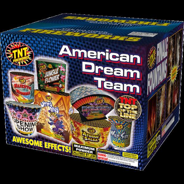 Firework Assortment American Dream Team