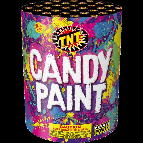 500 Gram Firework Fountain Candy Paint
