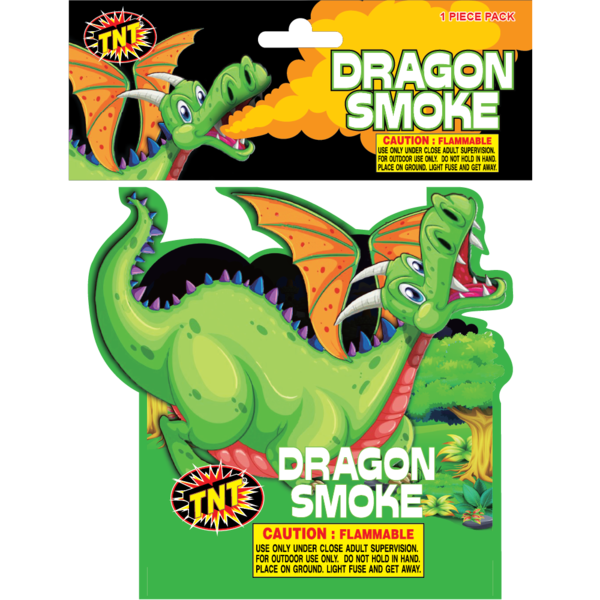 Firework Novelty Sparkler Dragon Smoke