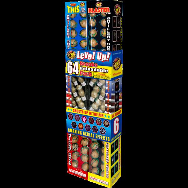 Firework Reloadable Level Up
