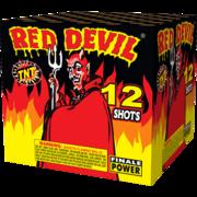 500 Gram Firework Supercenter Red Devil 12 Shot Thumbnail 1
