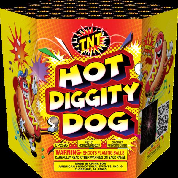 Firework Supercenter Hot Diggity Dog