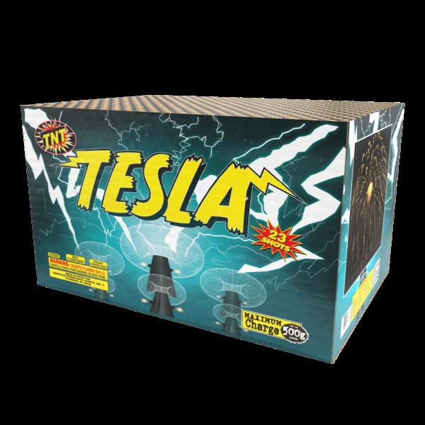 500 Gram Firework Aerial Finale Tesla 23 Shot