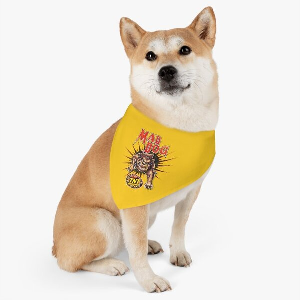 Firework TNT Merchandise Pet   Mad Dog Bandana Collar