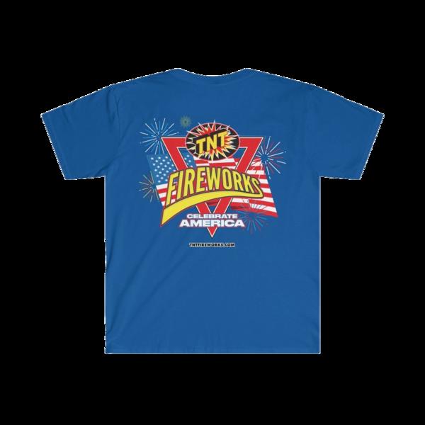 Firework TNT Merchandise Flag & Fireworks   Celebrate America