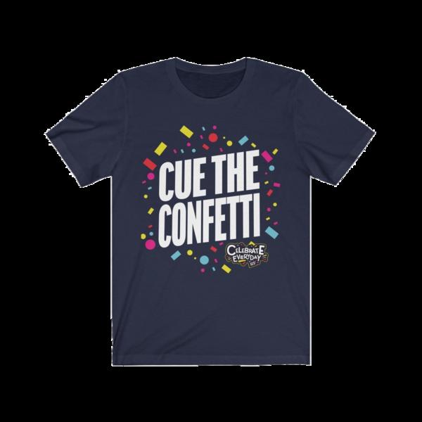 Firework TNT Merchandise Cue The Confetti T  Shirt