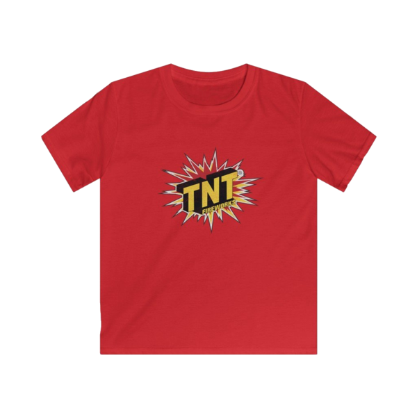 Firework TNT Merchandise Kids Vintage Tnt Logo T  Shirt