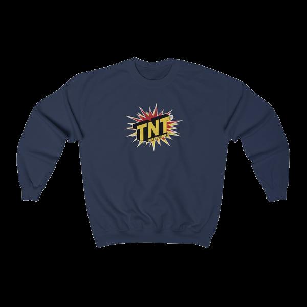 Firework TNT Merchandise Tnt Brand Crewneck Sweatshirt