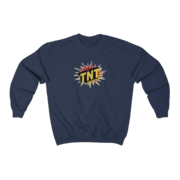 Firework TNT Merchandise Tnt Brand Crewneck Sweatshirt Thumbnail 1