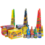 Firework Assortment Kickin' Party Tube Thumbnail 2